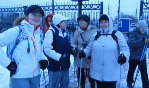 Прогулка нордиков 9.02.2014